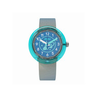 Montre Flik Flak mixte Go for Space bleu