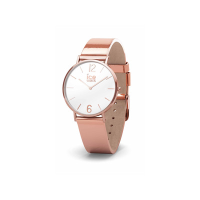 f67fd0baffbad Montre Ice Watch femme acier rose cuir - Femme - modèle 015091 | MATY