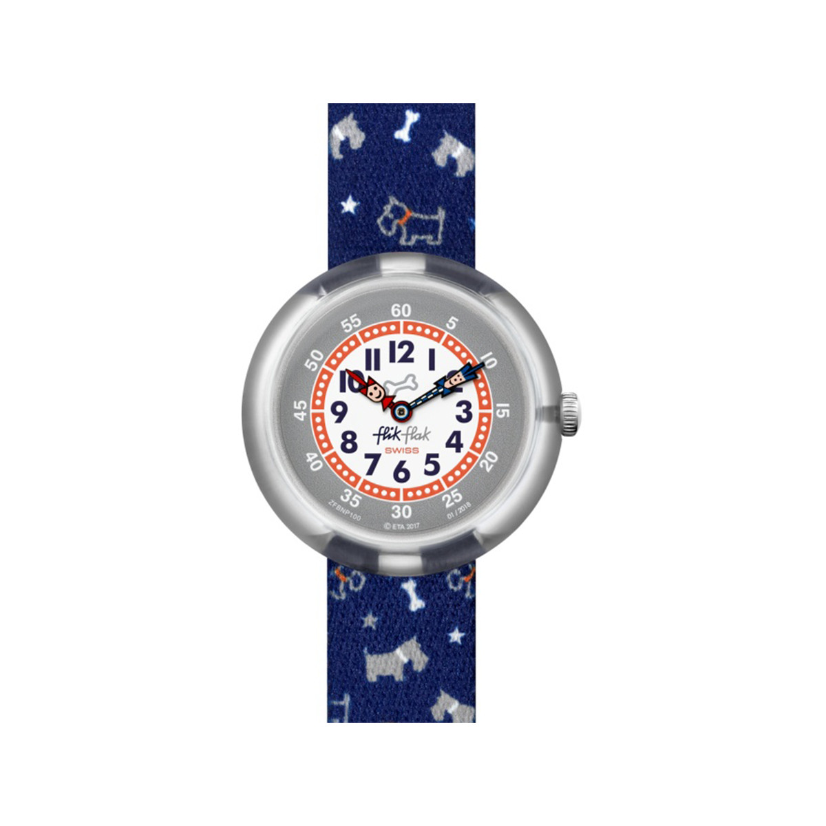 Montre Flik Flak mixte Scott'n'terry - vue V1