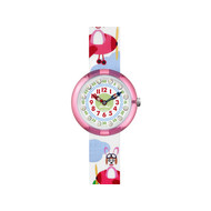 Montre Flik Flak Hopp on a plane enfant plastique