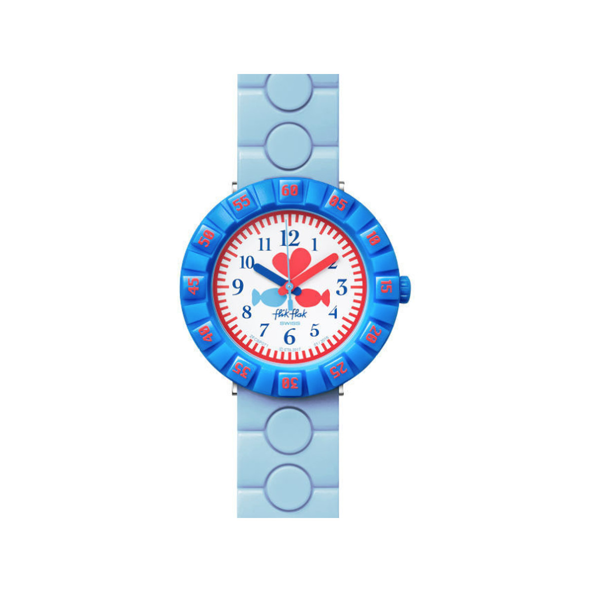 Montre Flik Flak Fish in love enfant plastique - vue 1
