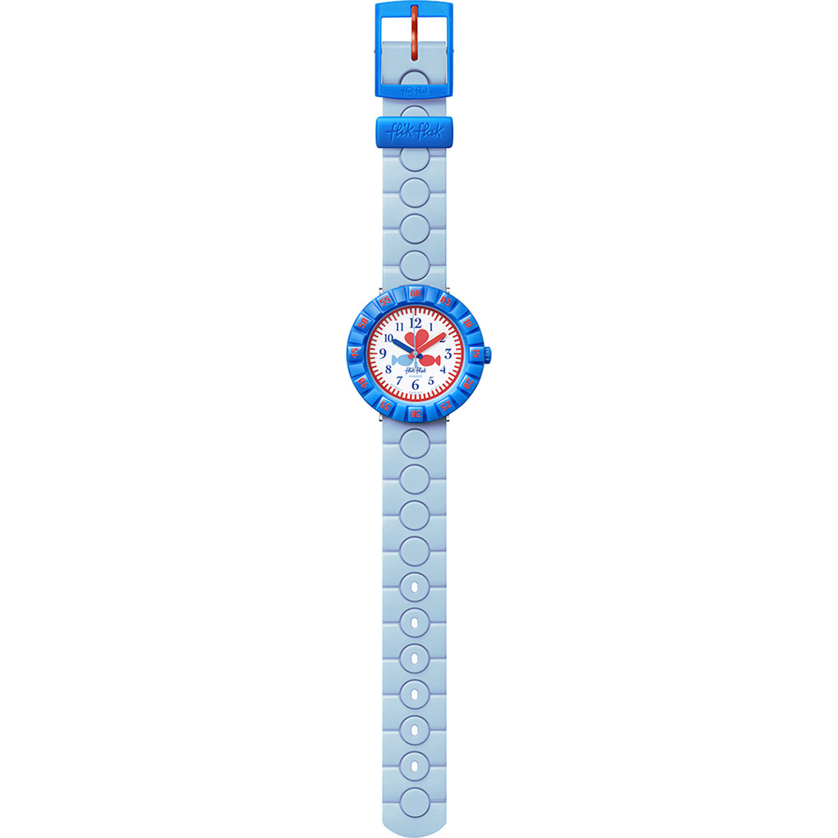 Montre Flik Flak Fish in love enfant plastique - vue D1