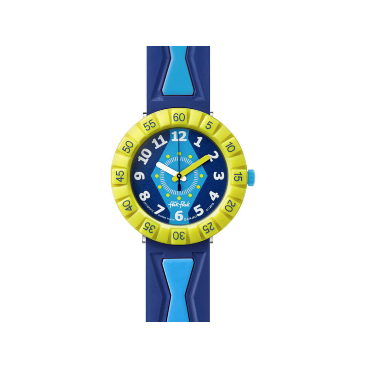 Montre Flik Flak Get it in royal enfant plastique - vue V1