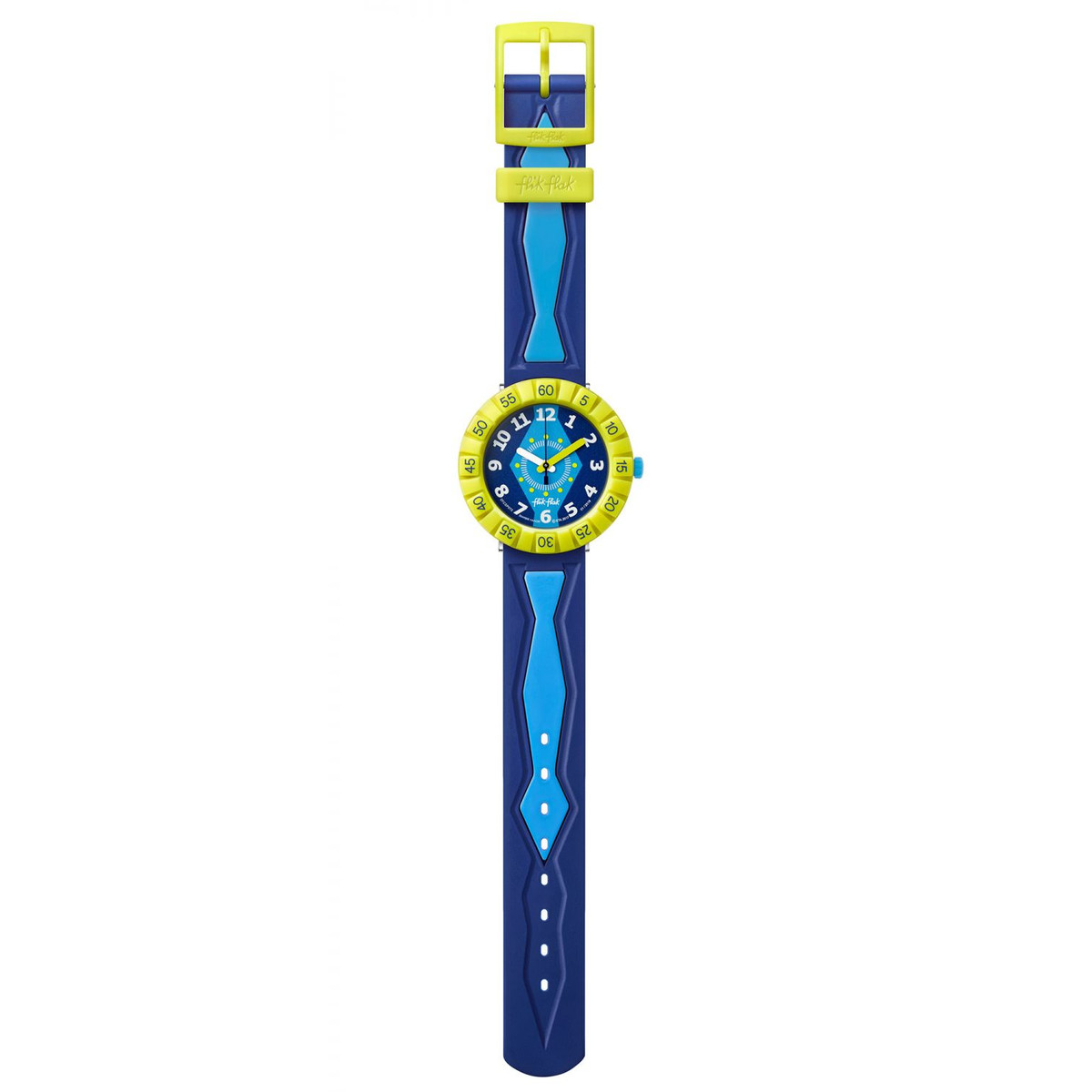 Montre Flik Flak Get it in royal enfant plastique - vue VD1