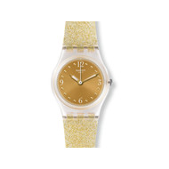 Montre Swatch Golden glistar femme plastique