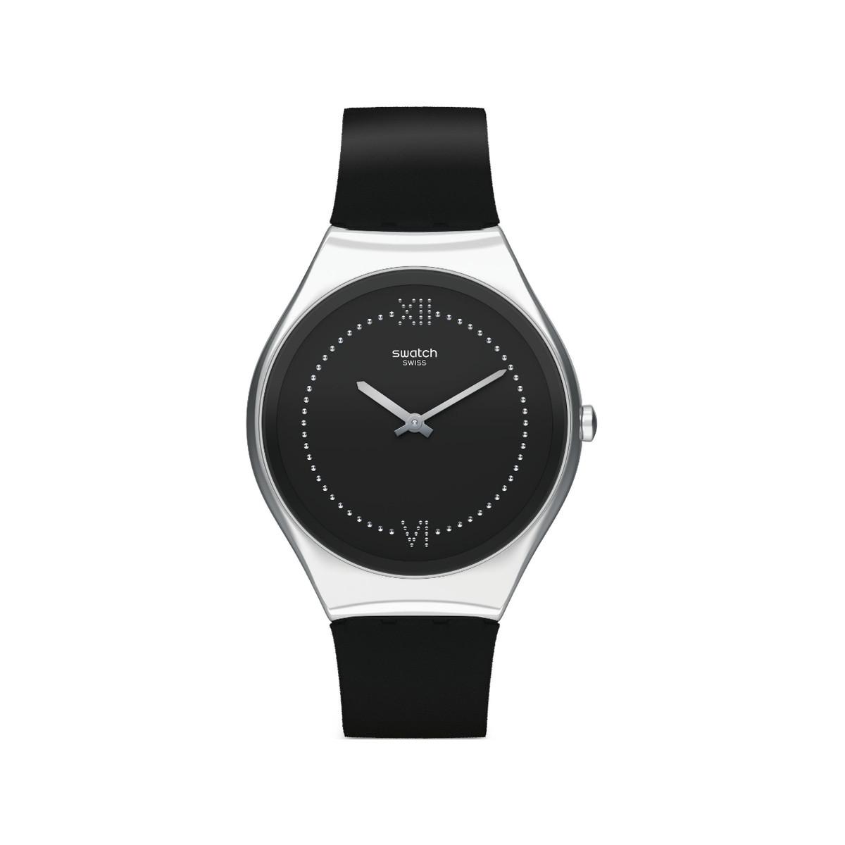 montre bracelet cuir femme swatch
