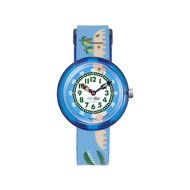 Montre Flik Flak enfant Tropical islagator
