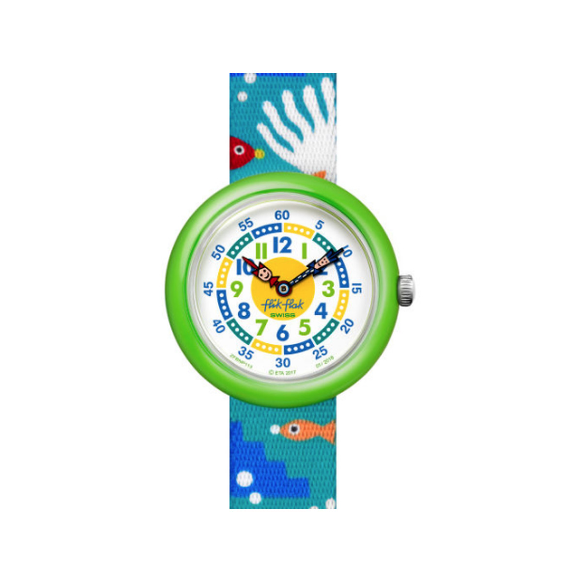 Montre Flik Flak enfant Tropical fish n reef - vue V1