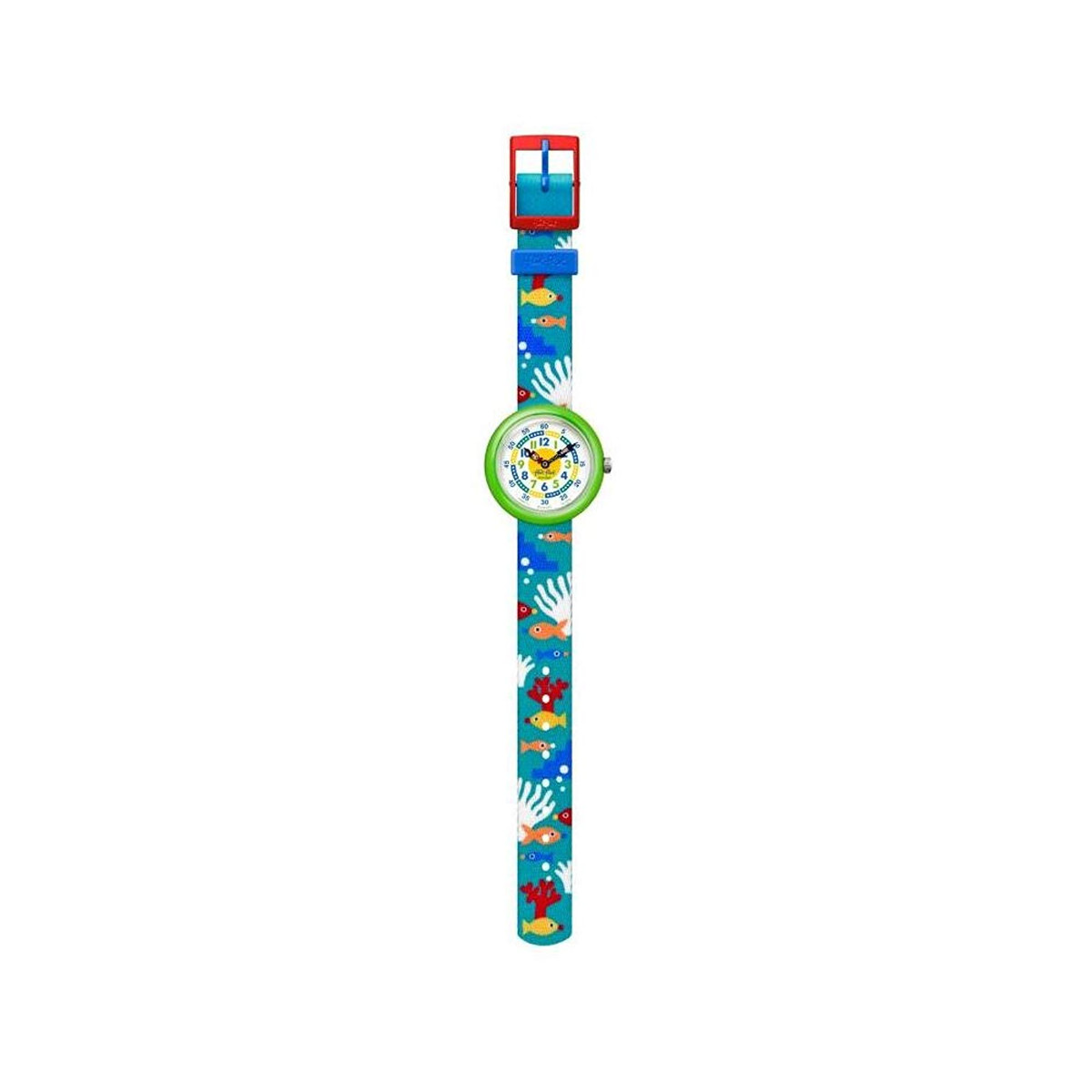 Montre Flik Flak enfant Tropical fish n reef - vue VD1