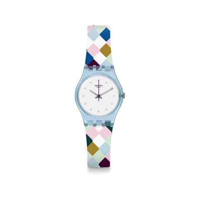 Montre Swatch Arle Queen femme silicone multicol - vue V1