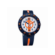 Montre Flik Flak Orange ahead enfant plastique