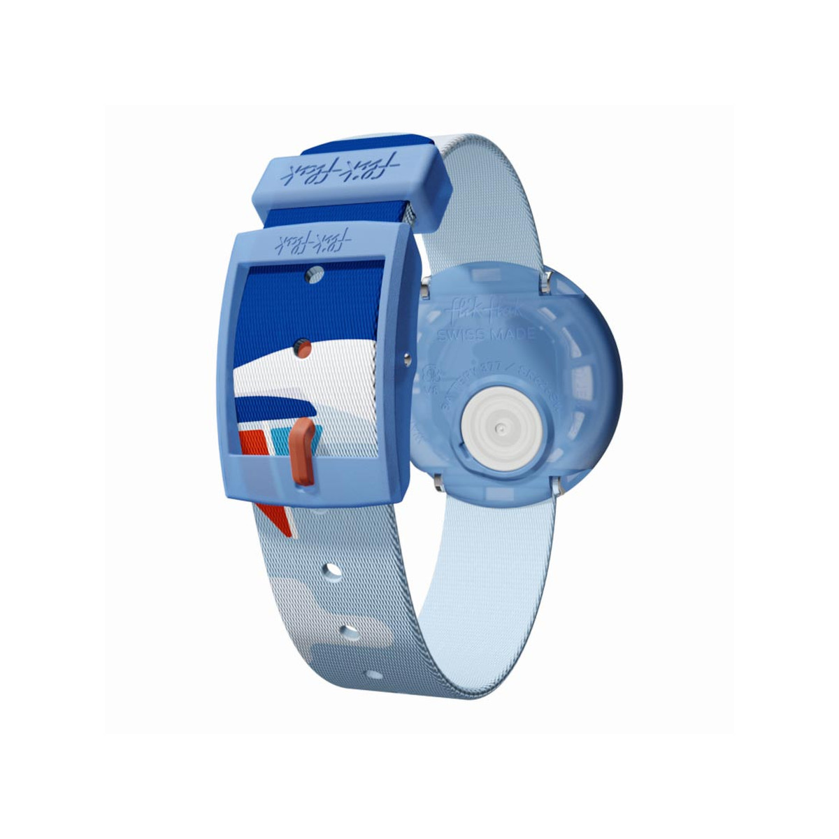 Montre Flik Flak Sea friends enfant plastique - vue V2