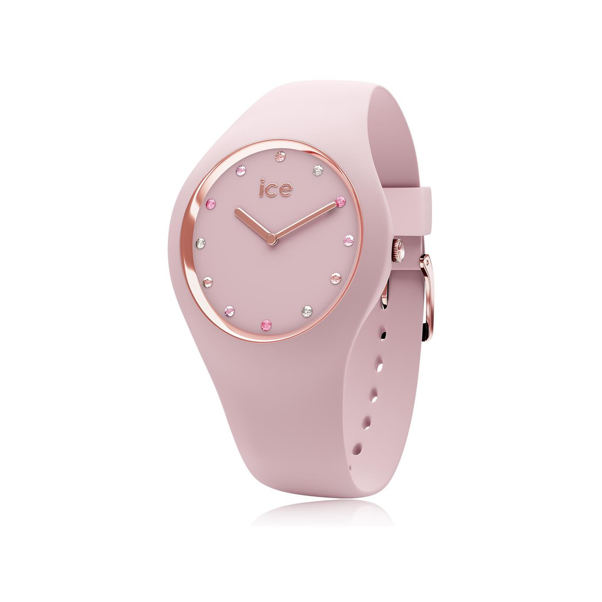 Montre Ice Watch femme silicone rose small 34 mm