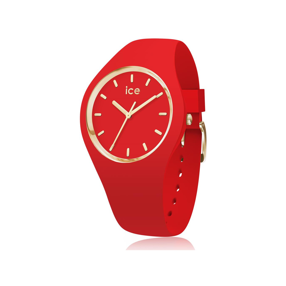 Montre Ice-Watch femme small silicone rouge