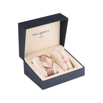 Montre et bracelet Paul Hewitt acier rose