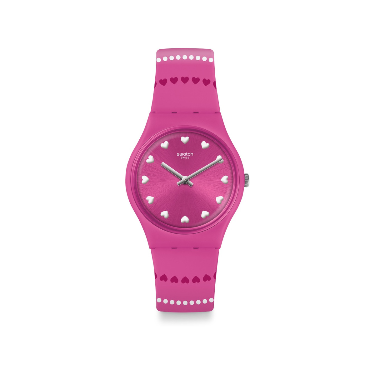 Montre Swatch Love is in the air femme silicone - vue V1