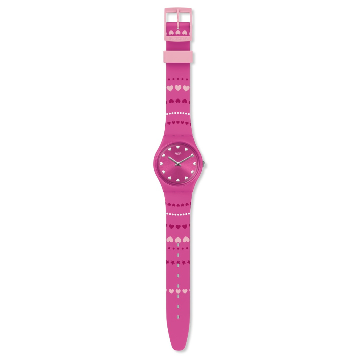 Montre Swatch Love is in the air femme silicone - vue VD1