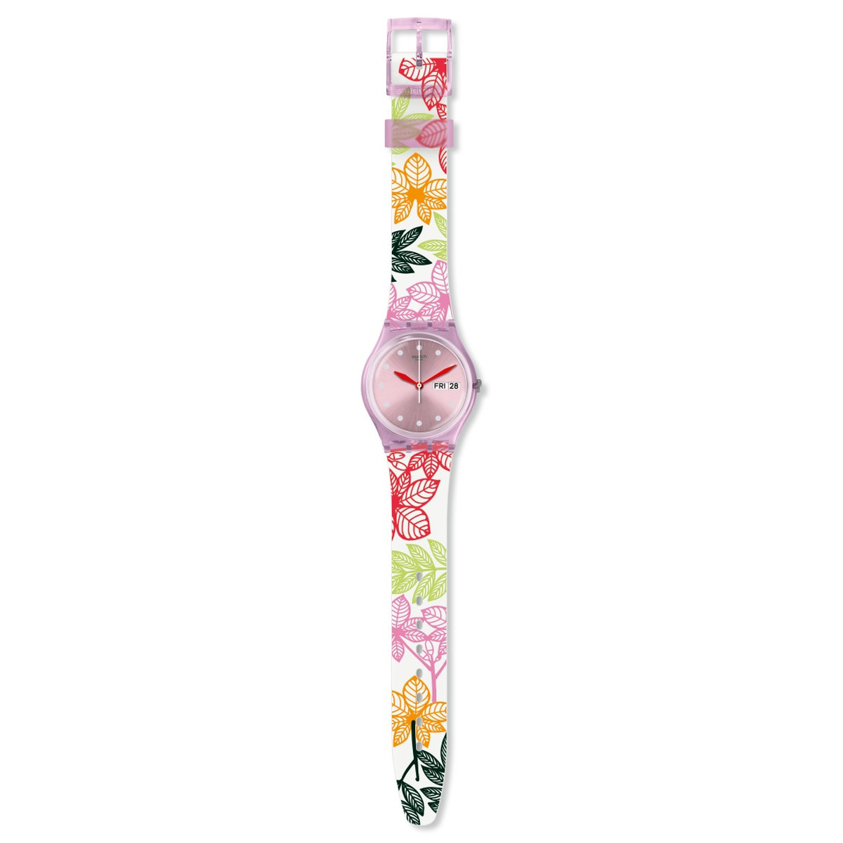 Montre Swatch transformation femme silicone - vue VD1