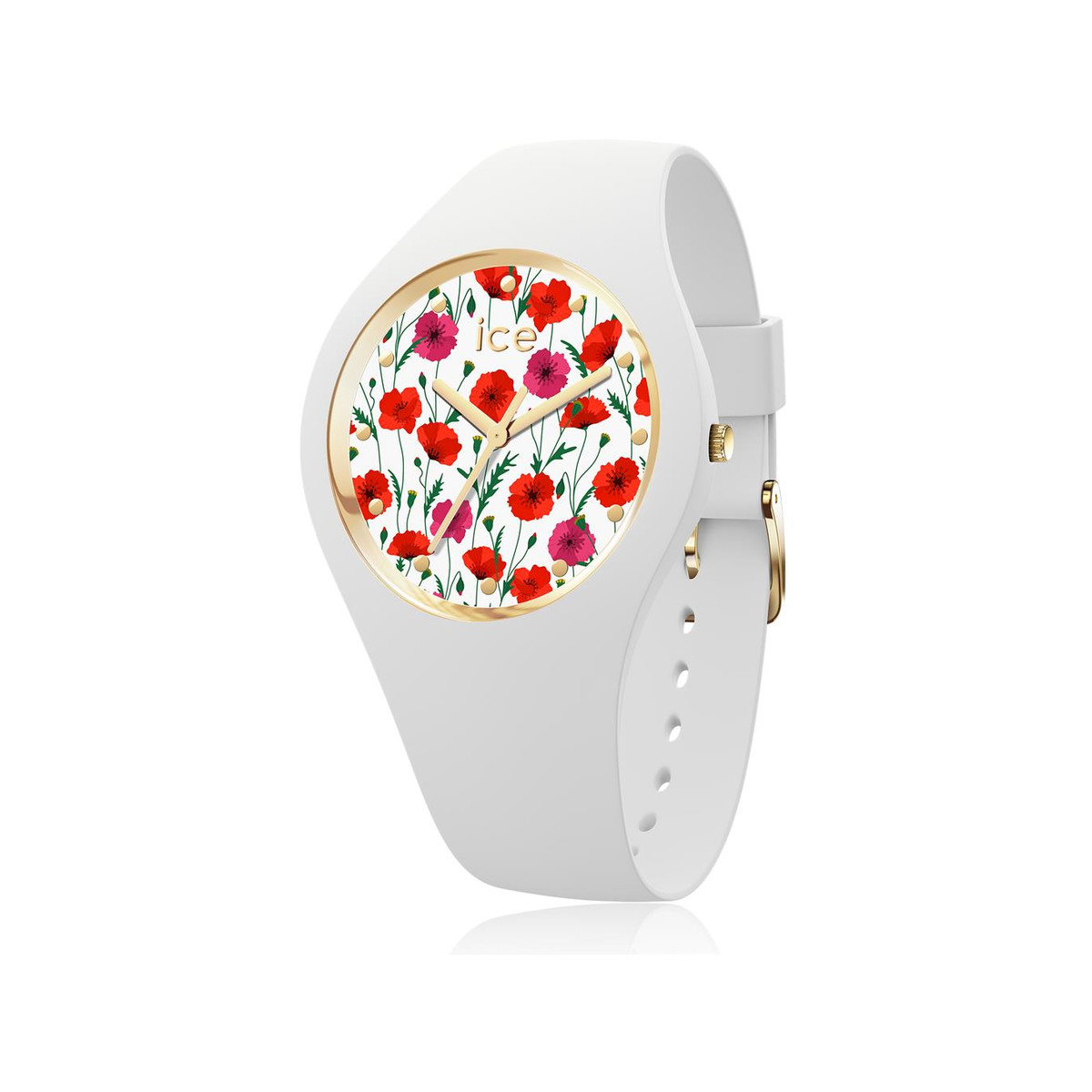 Montre Ice-watch femme silicone blanc
