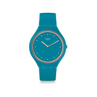 Montre Swatch mixte silicone couleur turquoise