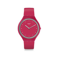Montre Swatch mixte silicone rose