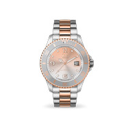 Montre Ice Watch femme acier bicolore rose