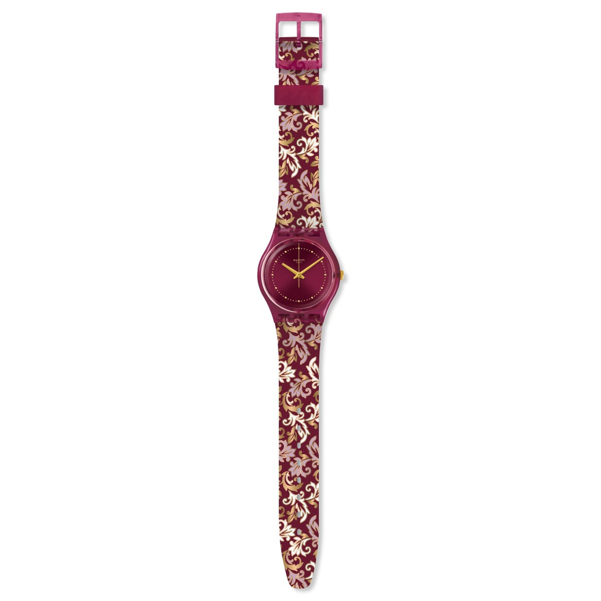 Montre SWATCH KNIGHTLINESS Bracelet Silicone - vue VD1