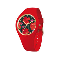 Montre Ice Watch femme silicone rouge small 34 mm