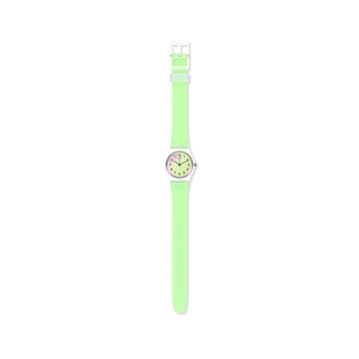 Montre SWATCH ESSENTIALLY Bracelet Silicone - vue VD1