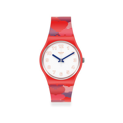 Montre SWATCH POWER OF LOVE Bracelet Silicone - vue V1