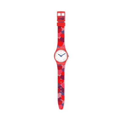 Montre SWATCH POWER OF LOVE Bracelet Silicone - vue VD1