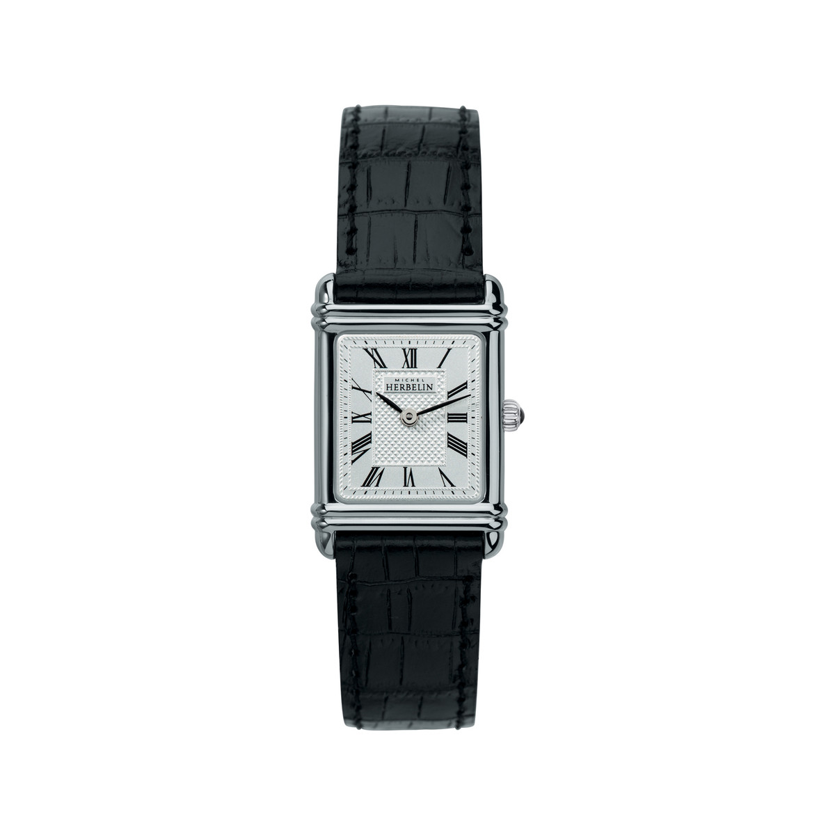 Montre MICHEL HERBELIN ART DECO Bracelet Cuir