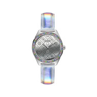 Montre GUESS LADIES TREND HOLOGRAM Bracelet Cuir