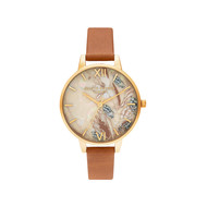 Montre OLIVIA BURTON ABSTRACT FLORALS Bracelet Cuir