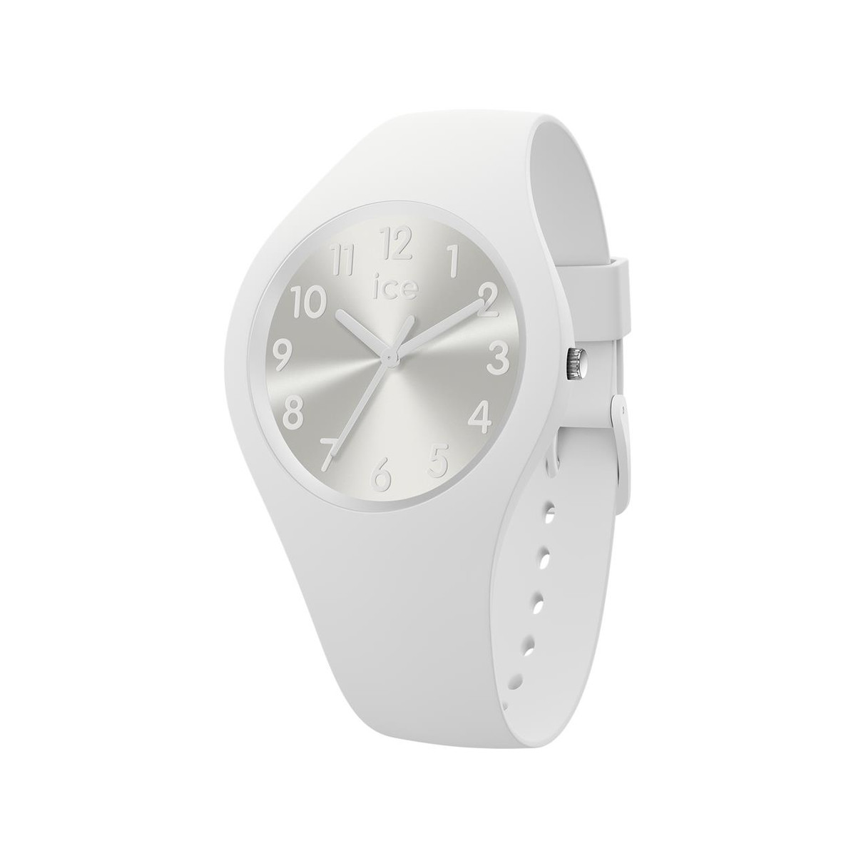 Montre Ice Watch femme small silicone blanc