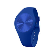 Montre Ice Watch femme medium silicone bleu