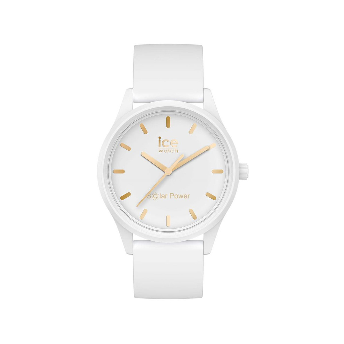 Montre Ice Watch femme taille small plastique blanc