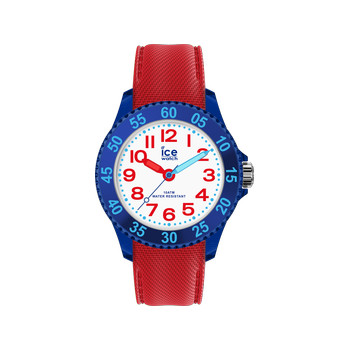 Montre Ice Watch extra small enfant plastique bleu silicone rouge
