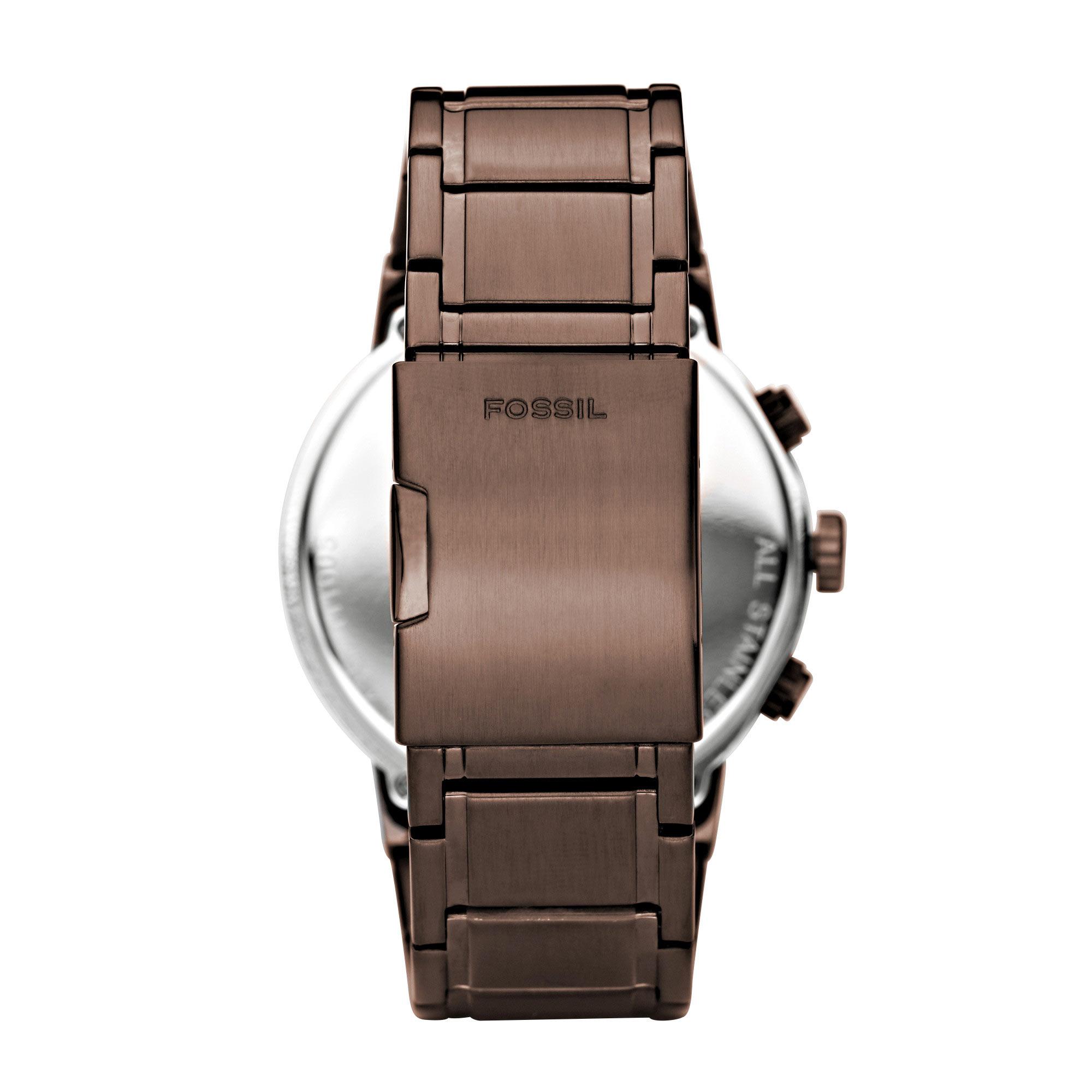 Bracelet fossil homme acier prix