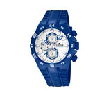 Montre Lotus homme chronographe bleu
