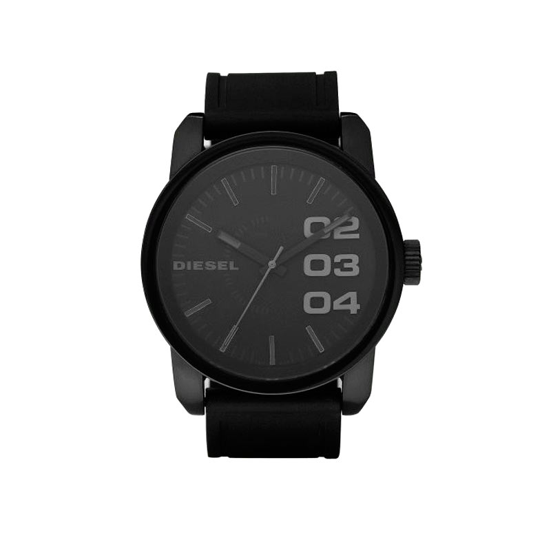 montre diesel homme acier noir bracelet cuir homme montre quartz maty. Black Bedroom Furniture Sets. Home Design Ideas