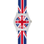 Montre Wysiwatch mixte So British multicolores