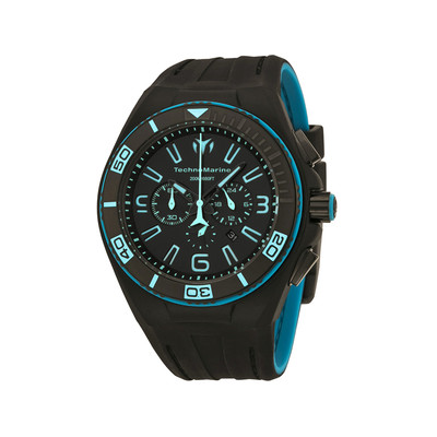 Montre Technomarine Night vision noir /bleu