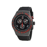 Montre Swatch race trophy homme chronographe noir
