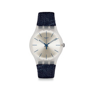 Montre Swatch mixte bracelet jean