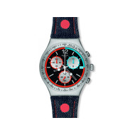 Montre Swatch Since 2013 mixte chronographe acier