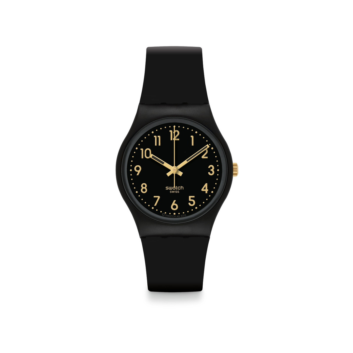 Montre Swatch mixte noir