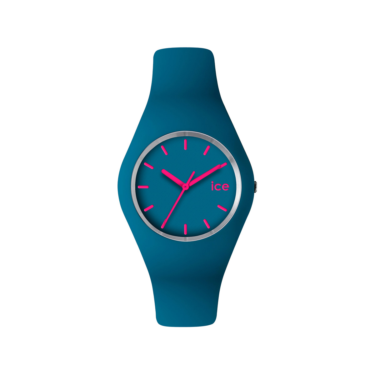 Montre Ice Watch silicone bleu et rose