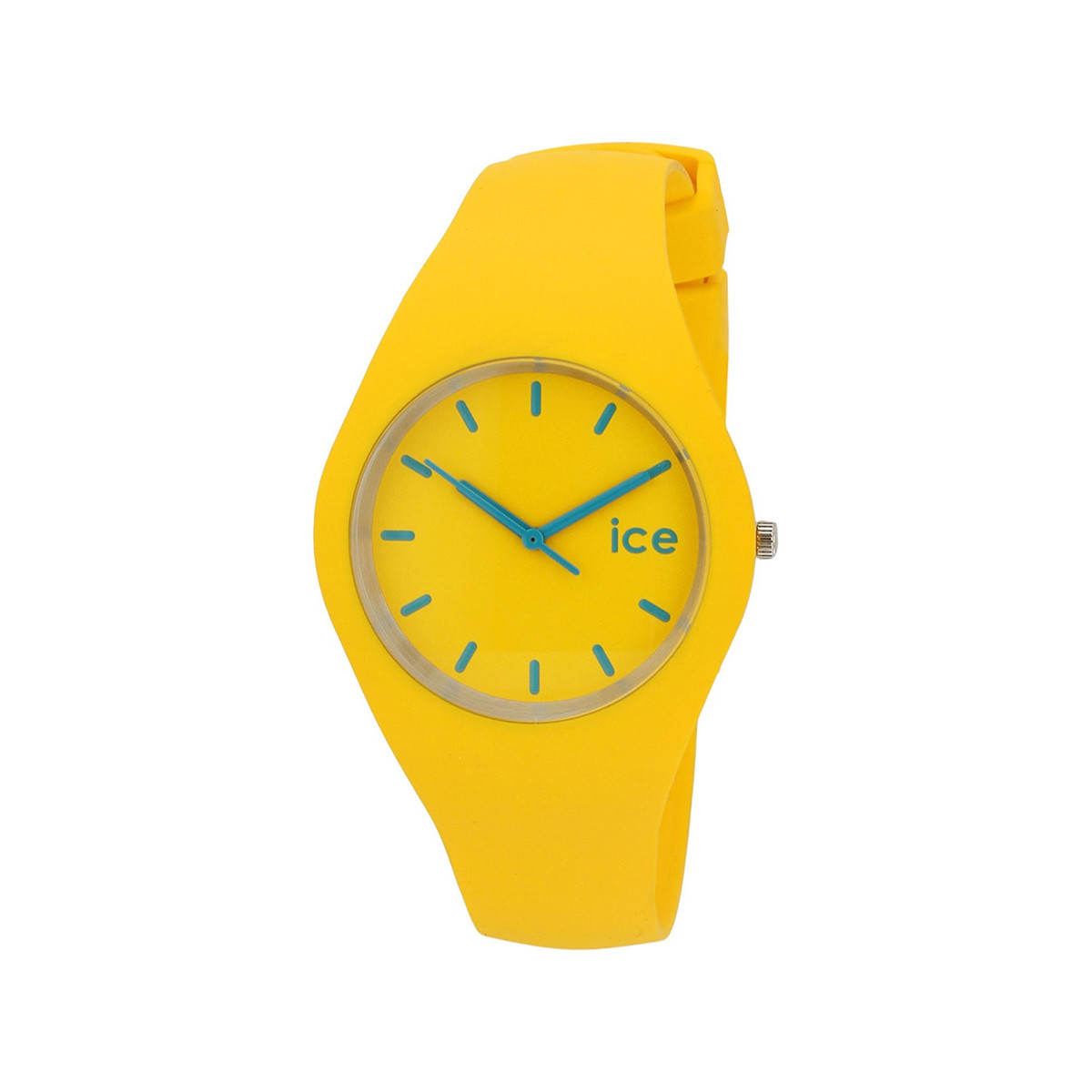 Montre Ice Watch mixte silicone jaune