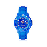 Montre Ice Watch mixte silicone bleu